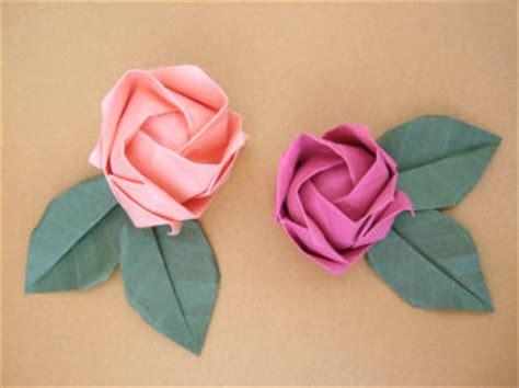 Kawasaki Origami - origami roses tutorial paper crave
