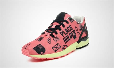buy wholesale womens adidas zx flux placeholder pack pink casual shoes light flash