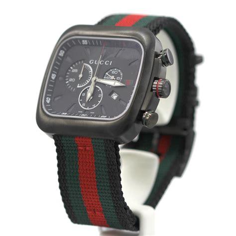new gucci watches ya131202 black ebay