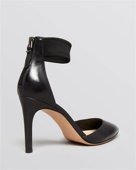 high heel shoes with ankle straps lyst via spiga pointed toe ankle pumps ife high