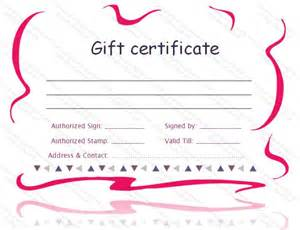 14 best Gift Certificate Templates images on Pinterest