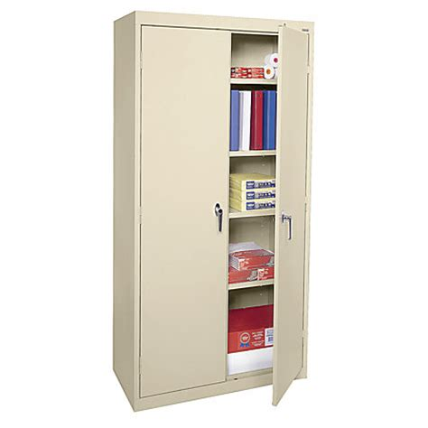 metal office storage cabinets sandusky 72 steel weldedassembled storage cabinet with 4