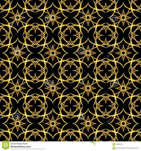 gold pattern on black background gold pattern royalty free stock images image 36280759