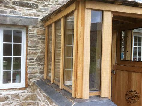 Flat Roof Sunroom Glazing Oak Framed Porch