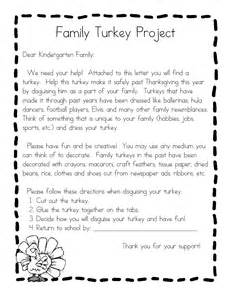 Turkey In Disguise Template Printable by Best Photos Of Family Turkey Project Template Turkey