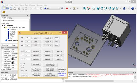kicad electrolytic capacitor footprint kicad new tool interactive align 3d model to pcbnew footprint in altium style page 1