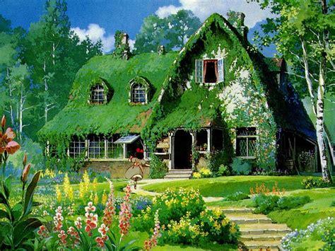 wallpaper green house スタジオジブリ物語 最高ですねww 人生はスパイスたっぷりのドラマ 楽天ブログ