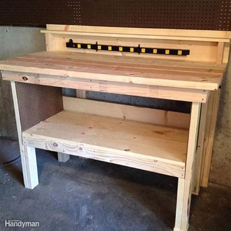 work bench idea 10 real life wood workbench plans and inspiration photos