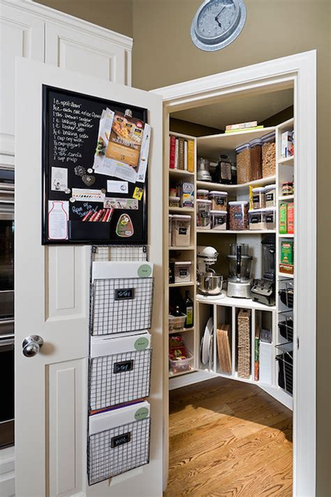 pantry  built  tray dividers transitional