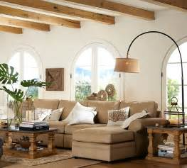 Pottery Barn Livingroom The Glow Of Summer How To Decorate With Lanterns