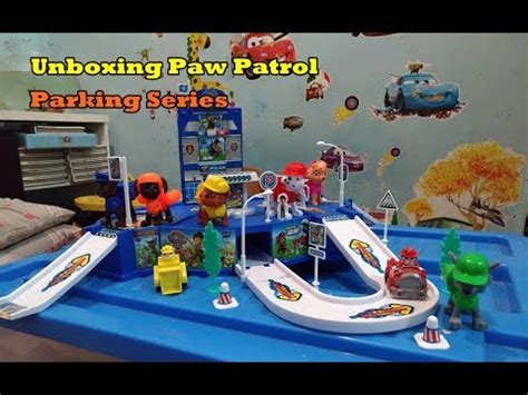 Paw Patrol Parking unboxing paw patrol parking series