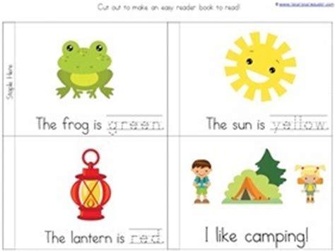 camping fun preschool printables