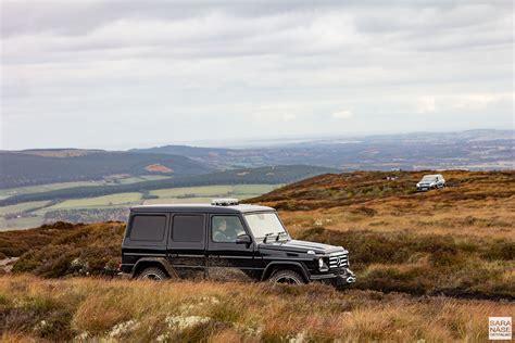 Mercedes Scotland Mercedes G Class Coast To Coast In Scotland