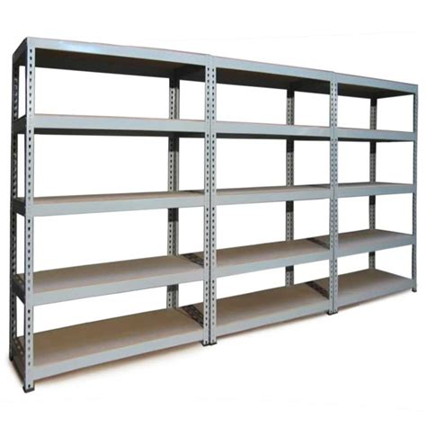 garage shelving 120cm wide grey heavy duty industrial