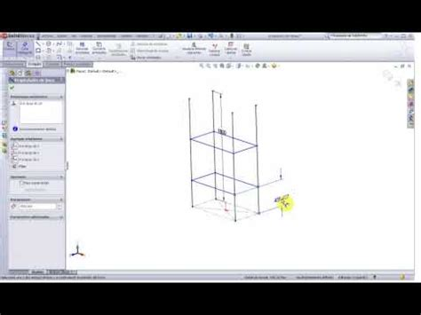 tutorial solidworks espanol tutorial solidworks 2009 totalmente en espa 241 ol 12 youtube