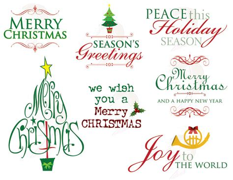 party title for christmas new year dividers cliparts