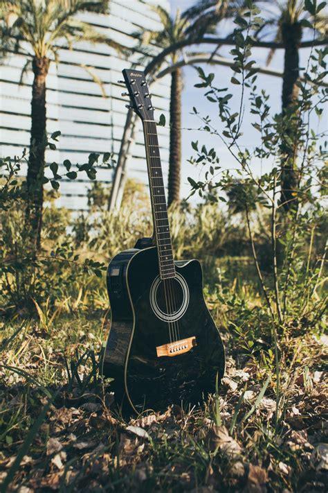 black guitar wallpapers hd