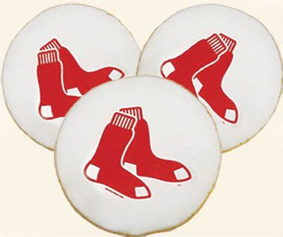 mlb boston red sox cookies product info    bakery