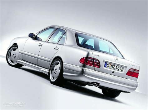 MERCEDES BENZ E 55 AMG (W210) specs   1997, 1998, 1999