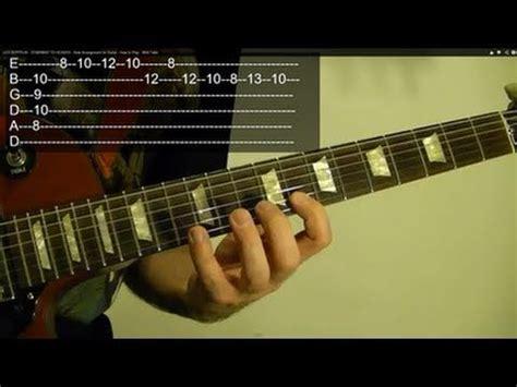 tutorial guitar heaven led zeppelin stairway to heaven new arrangement for