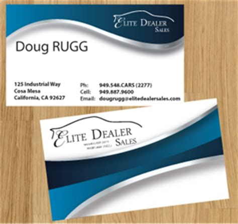 Sle Business Cards Templates car business card design galleries for inspiration