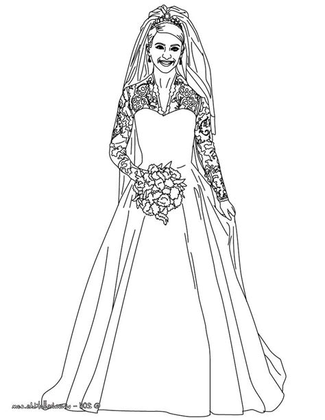 free coloring pages of prom dresses