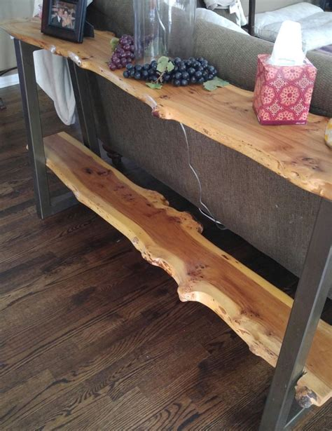 live edge sofa table 25 best ideas about table legs on diy table
