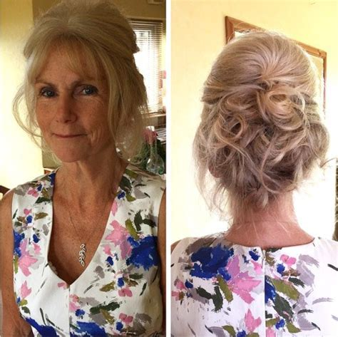 loose updo 50 year old women updo hair style 40 ravishing mother of the bride hairstyles
