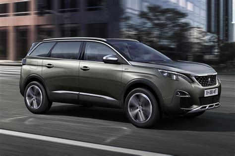 the latest peugeot car same name very different face new peugeot 5008 unveiled