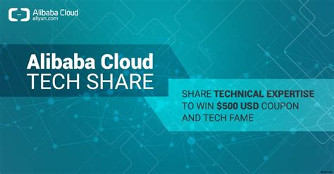 alibaba cloud trial 500 usd coupon alibaba cloud tech share alibaba cloud