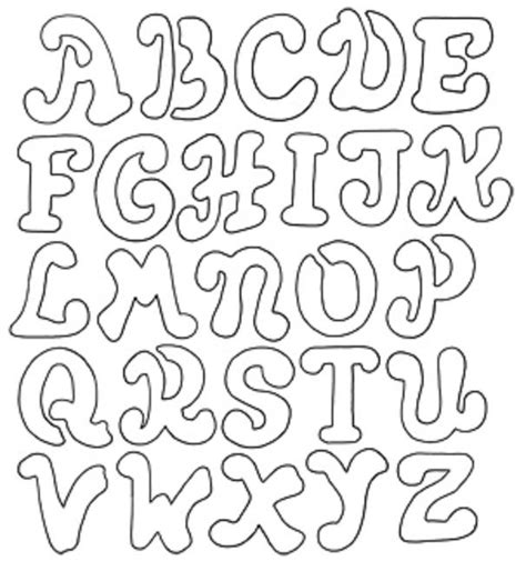 Alphabet Stencil Coloring Pages | coloring pages of alphabet stencil coloring