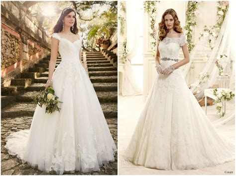 Wedding Dresses With Cap Sleeves by Lace Cap Sleeve Wedding Dress Bridal Dresses With