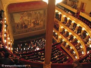 Red Theatre Curtains Narodni Divadlo