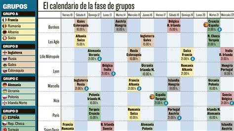 calendario deportivo de tv deportesonline calendario eurocopa 2016 con pdf para descargar