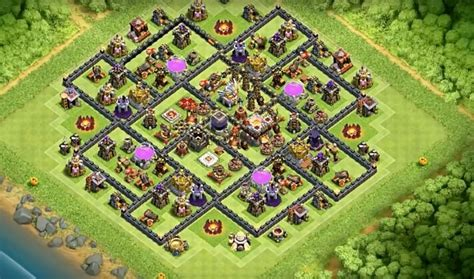 layout editor war base anti laloon lavaloon tactics base designs for th9 to th11