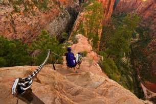 Angels landing zion national park hiking