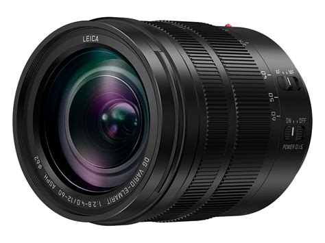 leica lenses panasonic offers 12 60mm of leica dg f2 8 4 series
