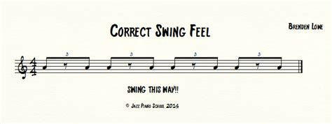 swing eighth notes learn the rhythmic feel and notation of swing