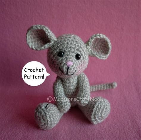 Pattern Crochet Mouse   morris the mouse by madisoncrftnook craftsy