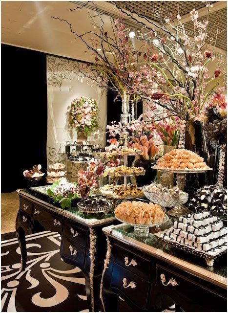 wedding dessert table ideas   blow  mind