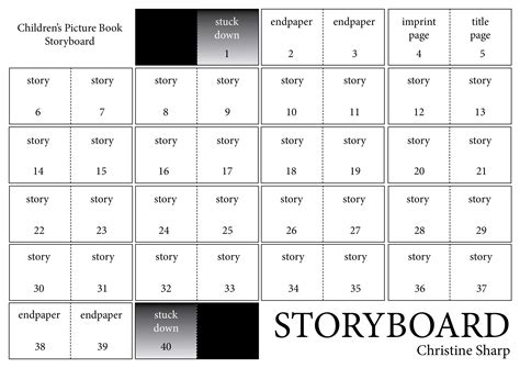 picture book storyboard