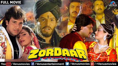 film full movie action zordaar full movie bollywood action movies govinda