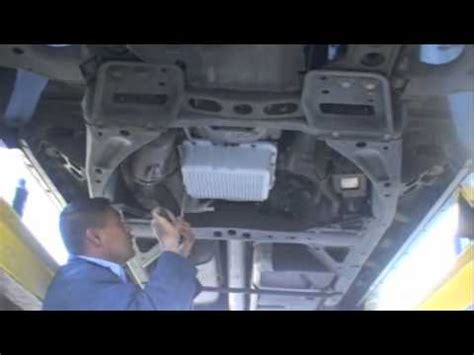 how cars engines work 2000 gmc envoy navigation system installing a pml transmission pan and differential cover on a gmc envoy youtube