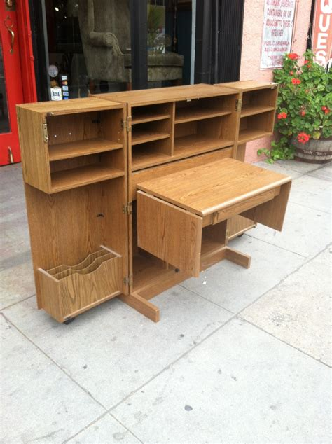 Desk That Looks Like A Cabinet by Desk In A Box Vintage Desk Cabinet Casa Vintage Furniture Los Angeles