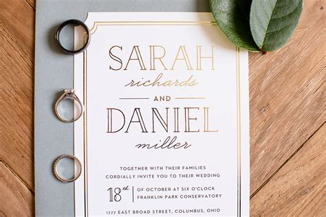 Basic Wedding Invitations