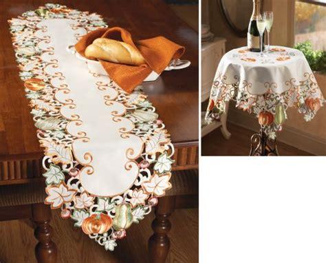 autumn harvest table linens autumn decor shopswell