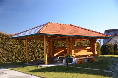 Pavillon Gross pavillon rustikal gro 223 timber
