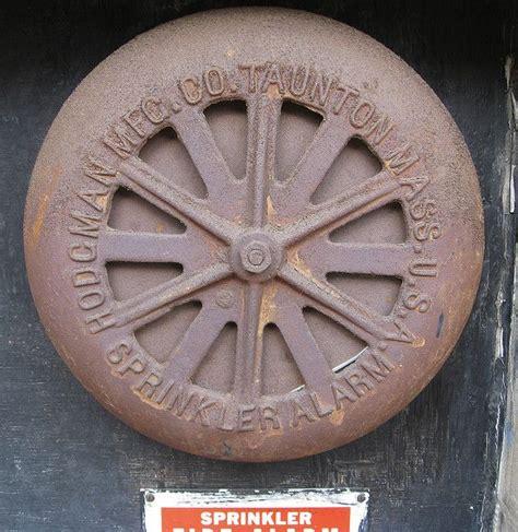 Alarm Gong Viking hodgman sprinkler water motor gong vintage