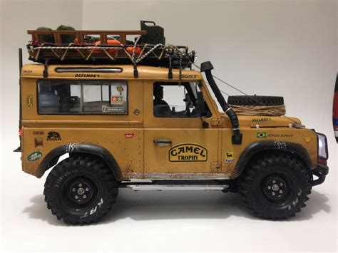 Land Rover Camel Trophy Cc01 Tamiya Rc Crawler Land
