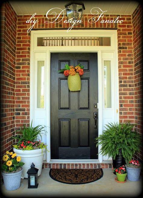 brick house front door 1000 images about front doors on pinterest orange brick